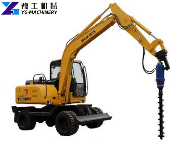 Auger Drilling Rig Equipment