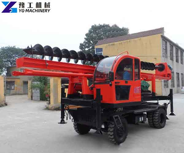 Augers Rotary Drilling Rig