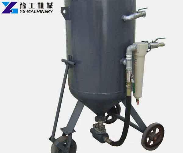 Mobile Sandblasting Equipment