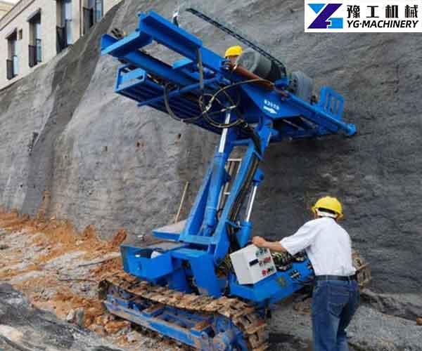 Rock Anchor Drilling Rig