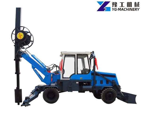 Small Rotary Drilling Rig