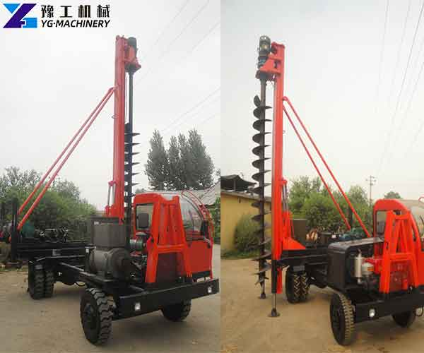 Truck Mounted Auger Drill Rigs