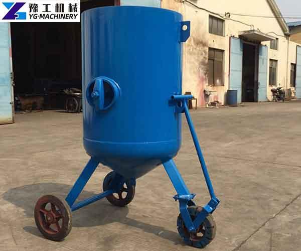 Wet Sandblaster Machine