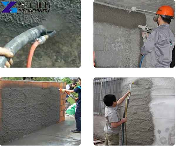 Cement Mortar Sprayer Machine