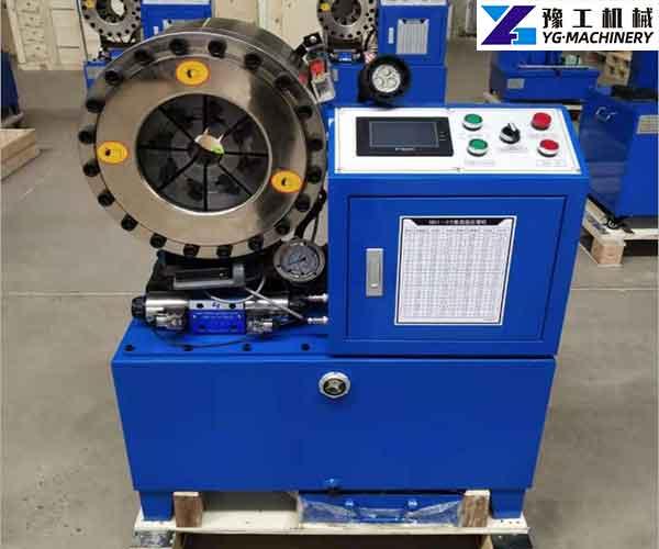 Hydraulic Pipe Shrinking Machine