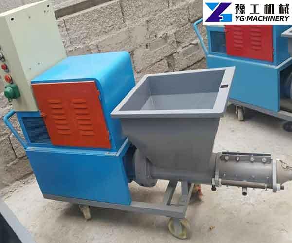 Cement Plaster Spraying Machine