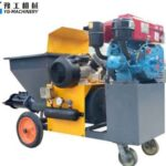 Cement Spraying Machine for Sale in United States