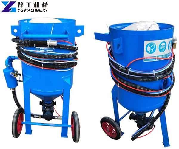 Mobile Sandblasting Equipment for Sale