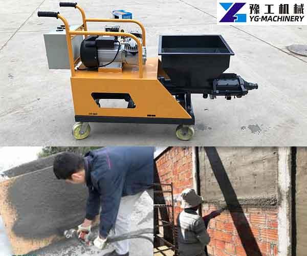 Stucco Spray Machine
