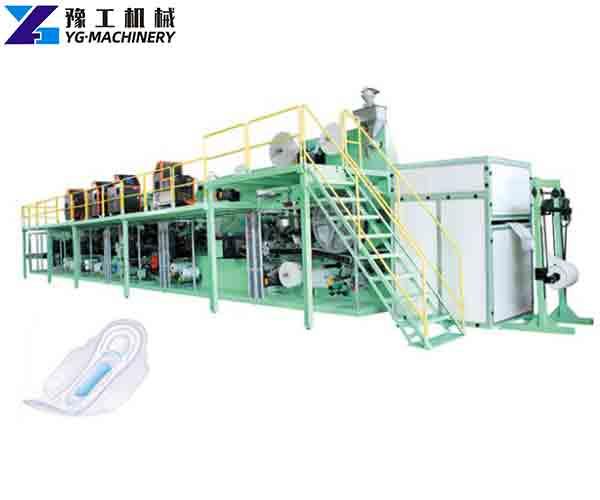 Sanitary Napkin Production Equipment
