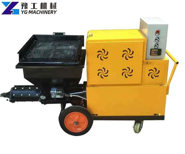 Cement Plaster Spray Machine